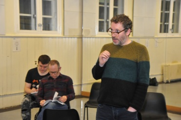 Witness for the Prosecution by Agatha Christie rehearsal